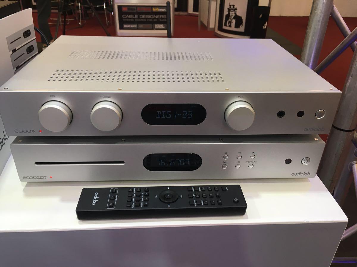 Audiolab 6000CDT en 6000A