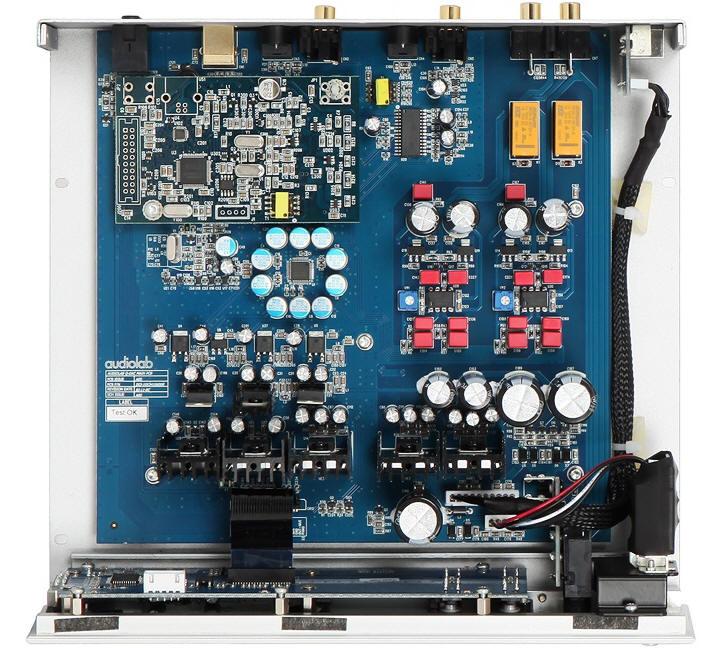 Audiolab Q-DAC binnenkant