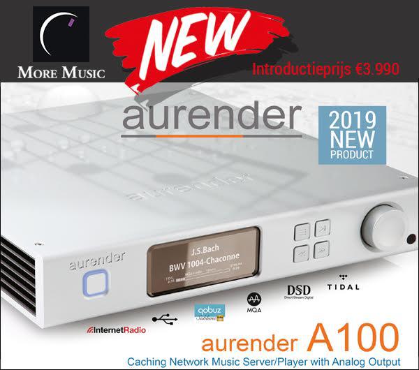 Nieuwe Aurender A100 streamer en DAC - Novus Audio