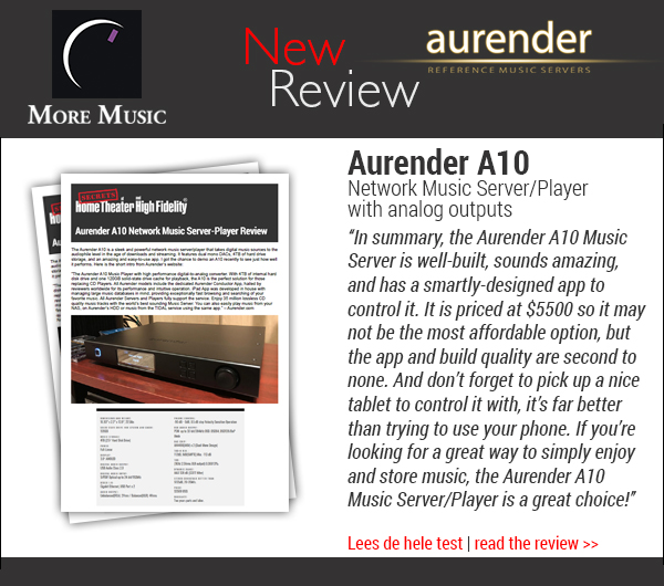 Review Aurender A10