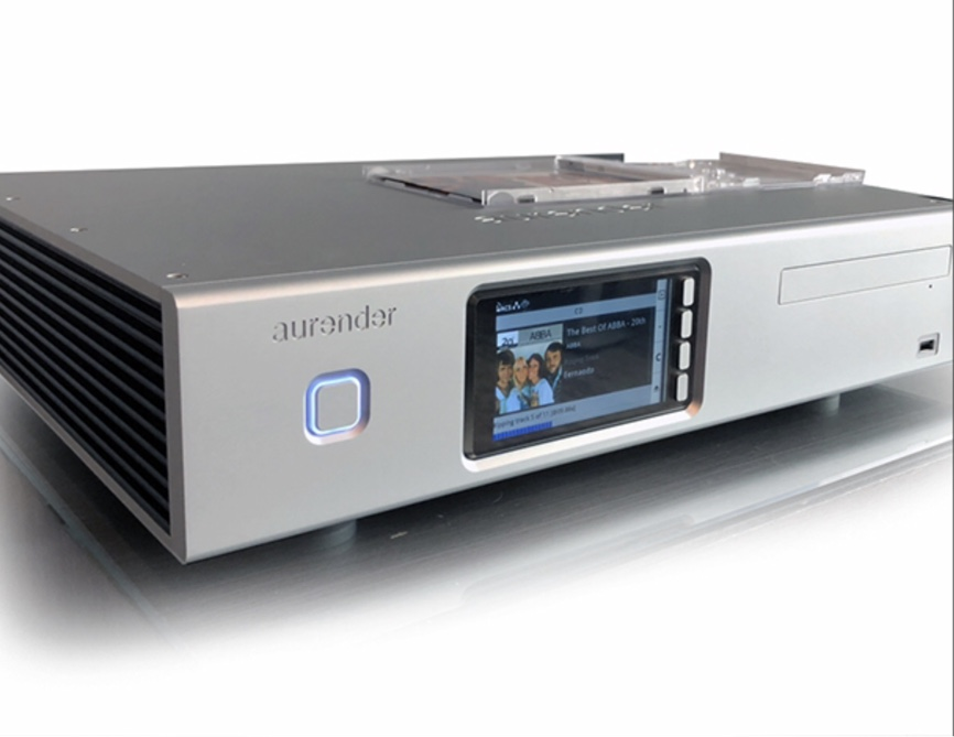 Aurender Streamer Ripper en NAS in een behuizing - Novus Audio