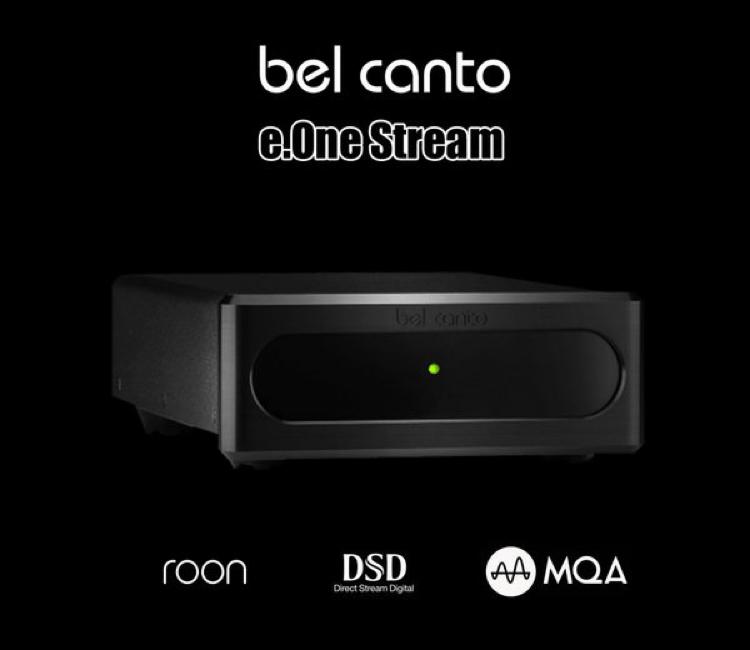 Test Bel Canto e One stream - Novus Audio