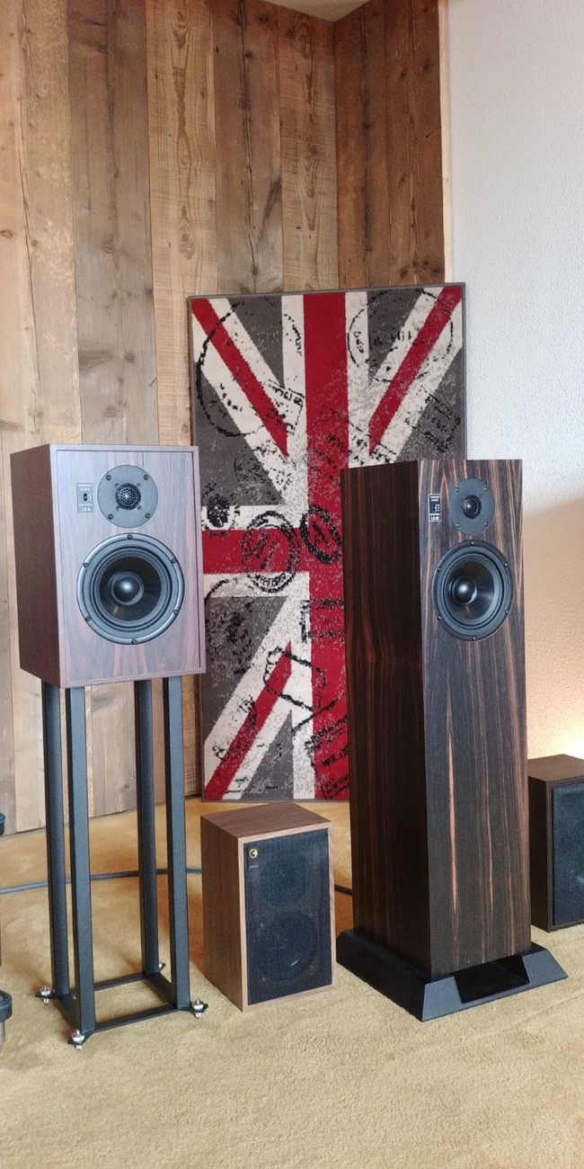 Graham Audio line-up - Novus Audio
