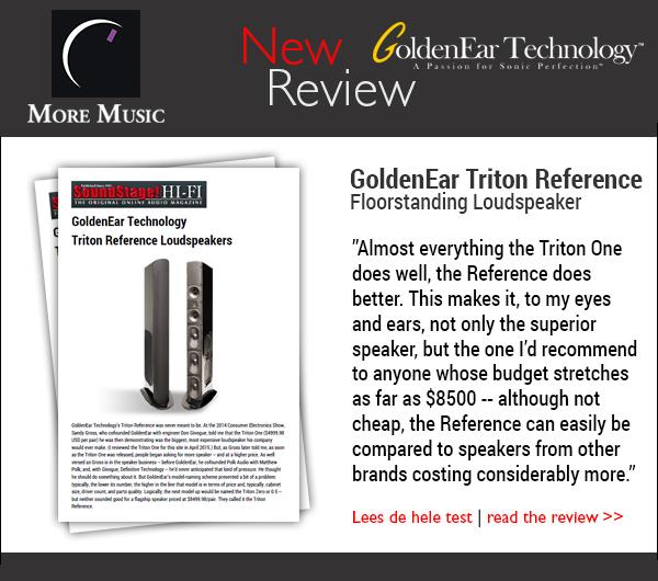 GoldenEar Triton Reference