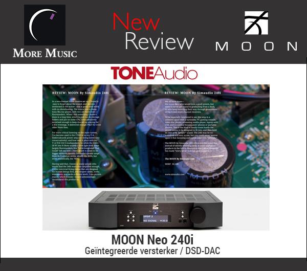 Weer een fantastische review van de Moon 240i