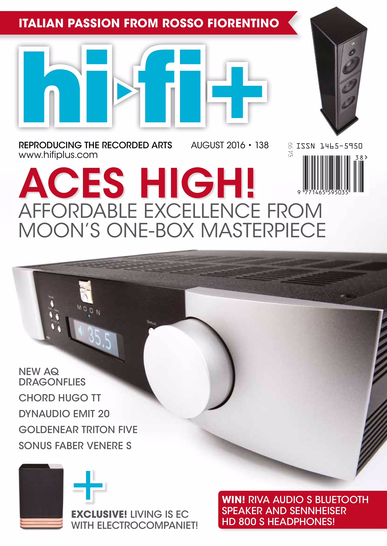 hi-fi+ Review Moon Neo ACE all in one - Novus Audio