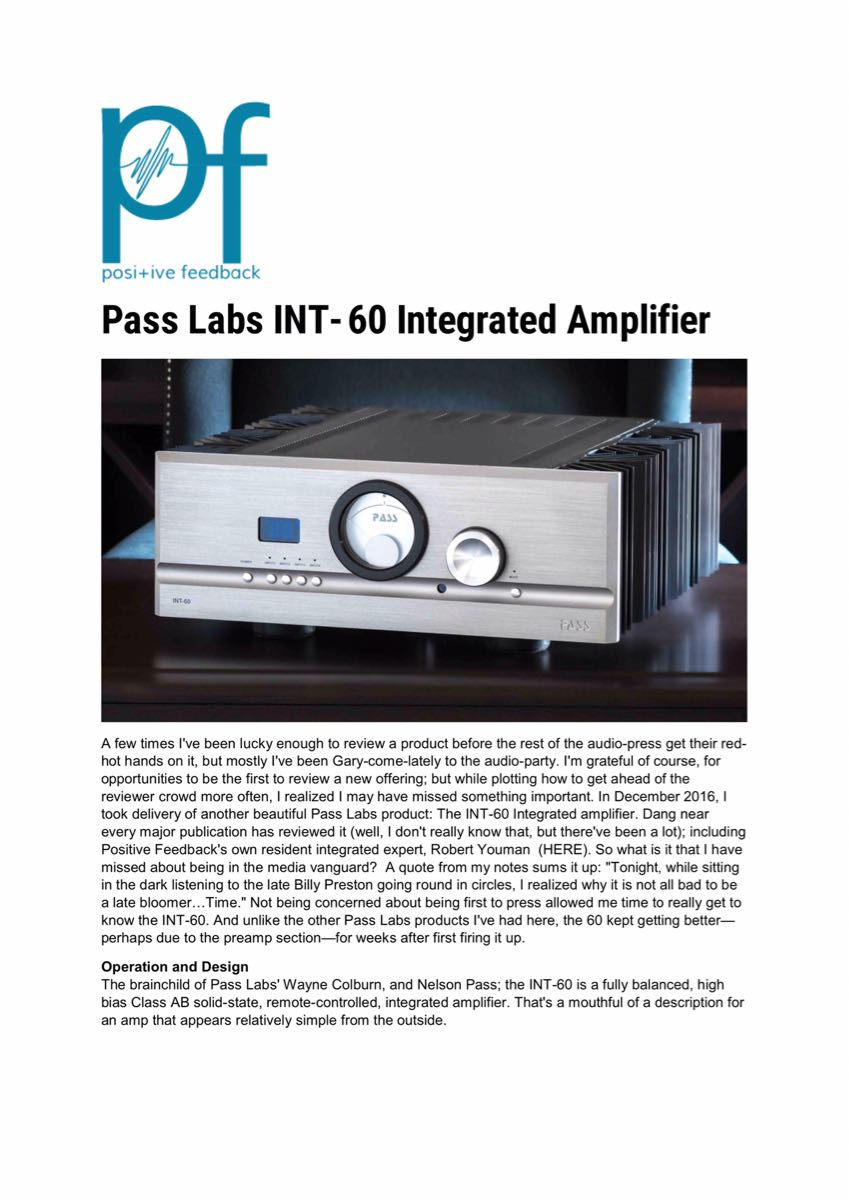Review Pass Labs Int 60